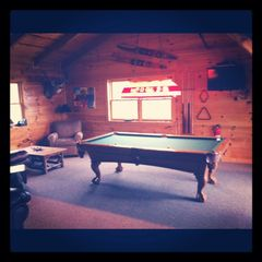 Sevierville chalet photo - Game room in loft area. Lots of space to chill and play.