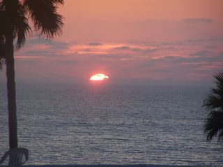 Las Gaviotas house photo - Fabulous sunset view from deck
