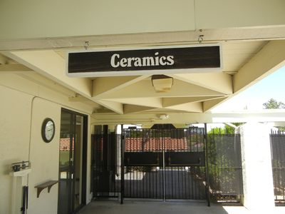 ceramics, auditorium, and more.