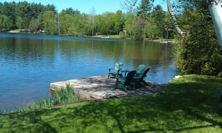 Lake Placid house photo - Back Yard Waterfront