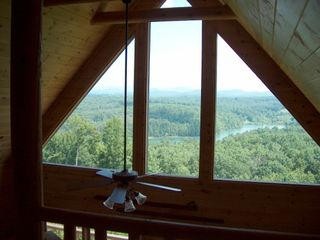 Blue Ridge cabin photo - View from the Loft
