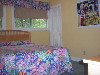 Pawleys Island townhome photo - 3rd BedRm with Full Bath 1 queen bed