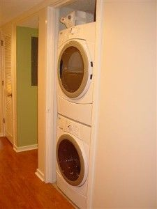 LARGER Washer and Dryer installed in Spring of 2012