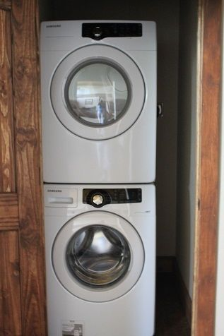 4 sets of large capacity washer/dryer sets