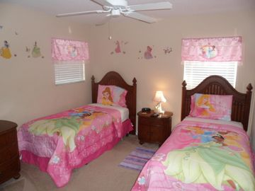 Disney princess themed bedroom