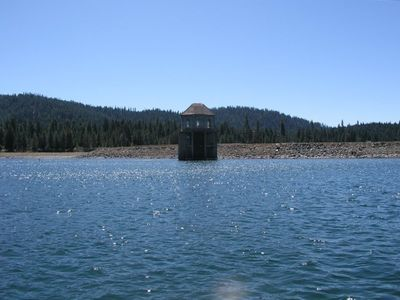 Dam at Lake Almanor