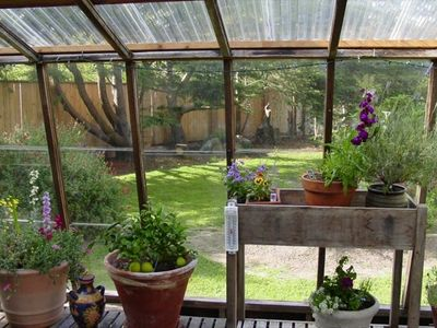 Attached solarium / greenhouse
