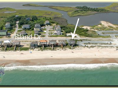 Surf City house rental - Aerial View