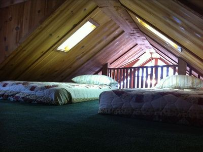 One of the two LOFT bedrooms