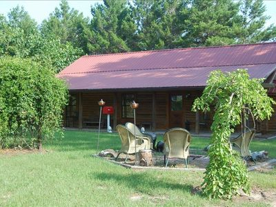 Florida Black Bear Cabin 1300 square feet - open porch across front plus fans