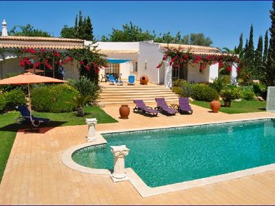 Luxury villa with private pool and beautiful garden
