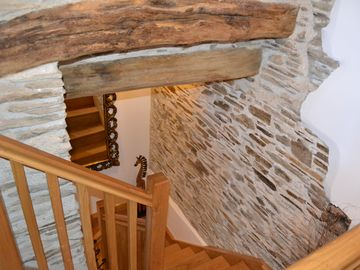 Beautiful walls and stairs in The Water Mill