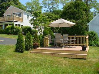 Barnstable estate photo - The Cottage Patio ... Privacy all over the Estate ! NOT included in rental !