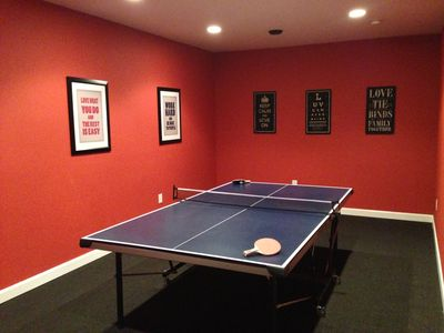 Ping Pong Table Room
