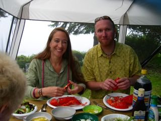 Harpswell cottage photo - Enjoy some lobster