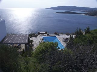 Andros villa photo - Panoramic view from the higher grounds of the propery