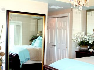 Daytona Beach Shores condo photo - Master Bedroom with two closets ( one lrg. Walk in closet)
