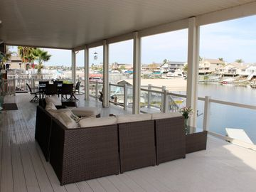 Discovery Bay house rental - Relax and enjoy the view from our covered deck.