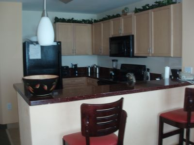 Cherry Grove Beach condo rental - Main Kitchen