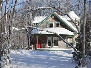 Harrington cottage photo - Winter