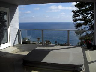 Laguna Beach house photo - Jacuzzi Deck on Lower Level