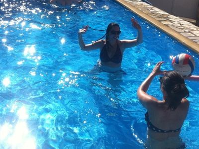Fun in the pool - private and exclusive