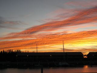 Wake up to unbelievable sunrises over the marina - Bimini condo vacation rental photo