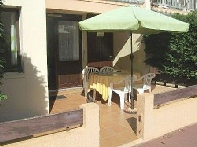 apartment Gruissan (Aude) 4 person, ground floor, private parking pool