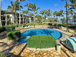 Kahuku - Turtle Bay condo photo - Guest Circular Pool, Chaise Loungers, Jacuzzi