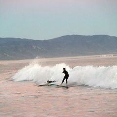 Santa Barbara house photo - If we can learn to surf, anyone can!