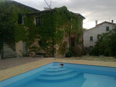 Umbrian Village House with private pool near historic Montefalco