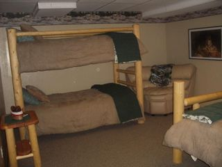 Heber City cabin photo - The Wolf Den with adjacent Pup Room