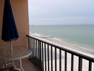 Madeira Beach condo photo - Breathtaking views from balcony
