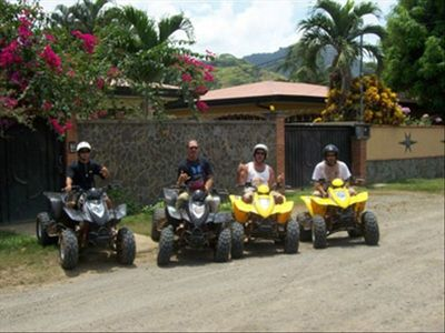 We offer our guests discounts on ATV tours, great way to explore the rainforest