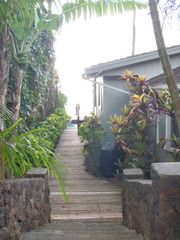 Haleiwa cottage photo - Path to Beach, 20 steps past beach house