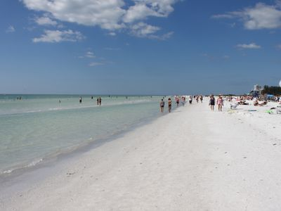 Enjoy Walks on the White Sands of Siesta Key Beach!