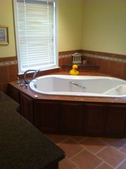 Surfside Nantucket house photo - Master bath jacuzzi
