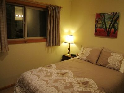 Mount Baker chalet rental - Down Stairs Full Bedroom