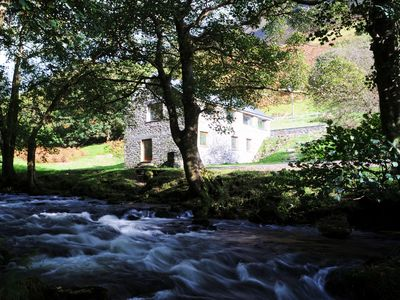 Converted Watermill With Beautiful River And Majestic Mountains On Its Doorstep