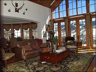 Vail house photo - Large Great Room Overlooks Slopes
