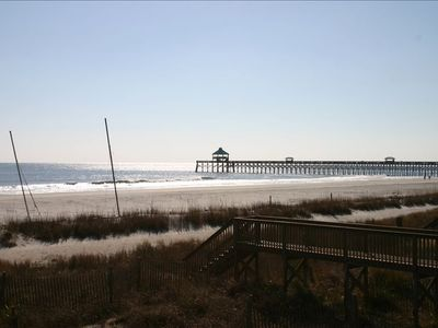 View of the Folly pier from the deck