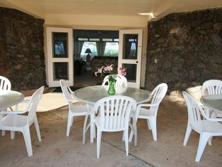 Kailua house photo - Outside dining