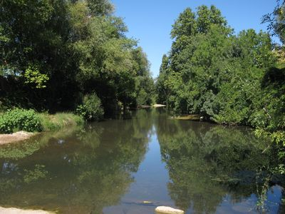 The river in Pezenas