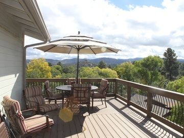 Large 500SF deck with views for miles! You won't want to leave!