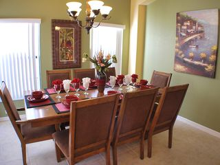 Kissimmee villa photo - Dining room