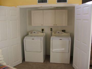 Washer / Dryer in Master