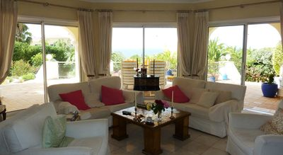 Carvoeiro villa rental - LOUNGE