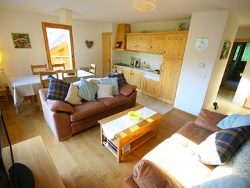 Vaujany apartment rental - Living Room