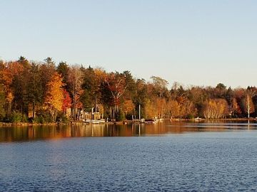 Our lake in the Fall.