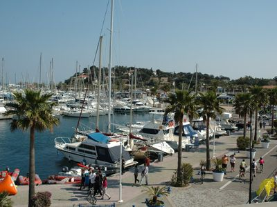 Cavalaire-sur-Mer apartment rental - The Marina is only 10 mins walk
